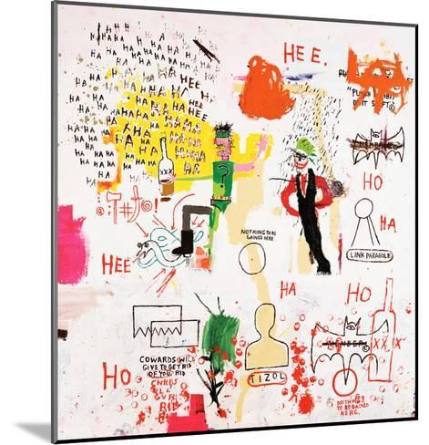 Riddle Me This, Batman, 1987-Jean-Michel Basquiat-Mounted Giclee Print