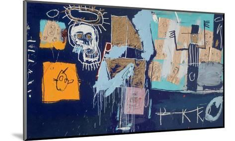 Slave Auction, 1982-Jean-Michel Basquiat-Mounted Giclee Print