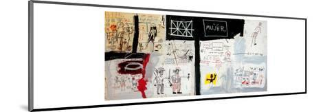 Price of Gasoline in the Third World, 1982-Jean-Michel Basquiat-Mounted Giclee Print