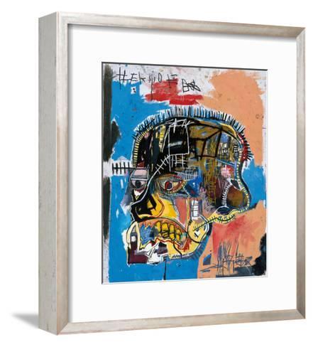 Untitled, 1981 (Basquiat Skull)-Jean-Michel Basquiat-Framed Art Print