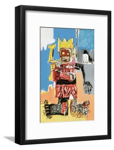 Untitled, 1982-Jean-Michel Basquiat-Framed Art Print