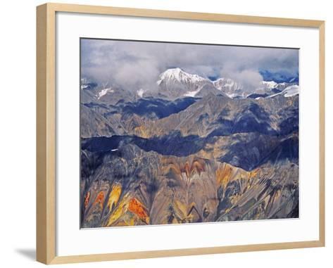 Wrangell Mountains (Aerial), Wrangell-St. Elias National Park, Alaska-Frans Lanting-Framed Art Print