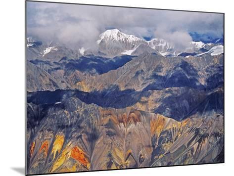 Wrangell Mountains (Aerial), Wrangell-St. Elias National Park, Alaska-Frans Lanting-Mounted Photographic Print