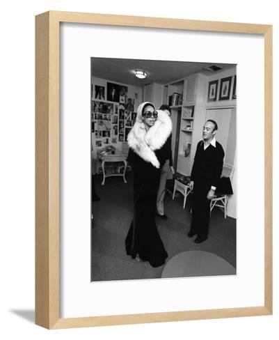 Diahann Carroll - 1975-Isaac Sutton-Framed Art Print