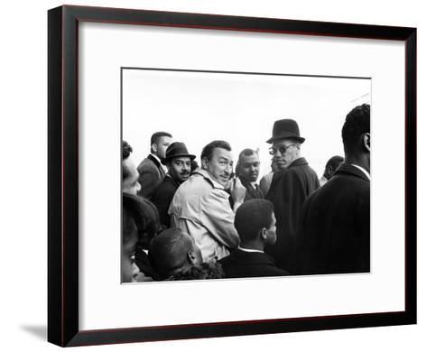 Malcolm X, Adam Clayton Powell Photographic Print by G. Marshall ...