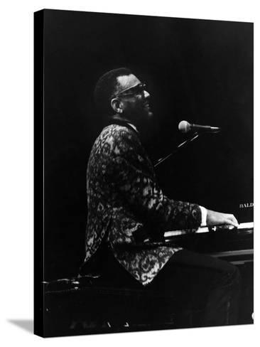 Ray Charles 1972-Norman Hunter-Stretched Canvas Print