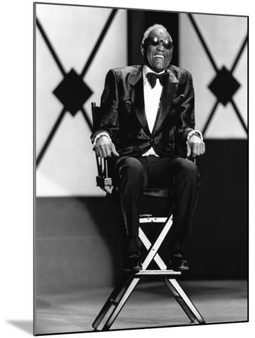 Ray Charles - 1994-James Mitchell-Mounted Photographic Print