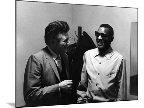 Ray Charles, Liberace - 1973-Howard Morehead-Mounted Photographic Print