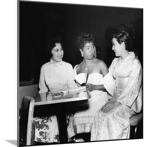 Sarah Vaughan and friends-Howard Morehead-Mounted Photographic Print