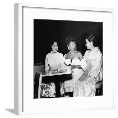 Sarah Vaughan and friends-Howard Morehead-Framed Art Print