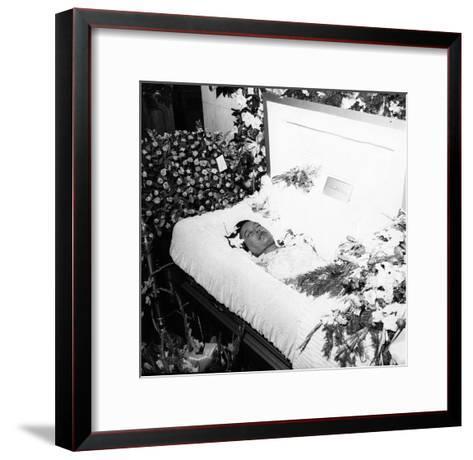 Billie Holliday Funeral - 1959-Moneta Sleet Jr.-Framed Art Print