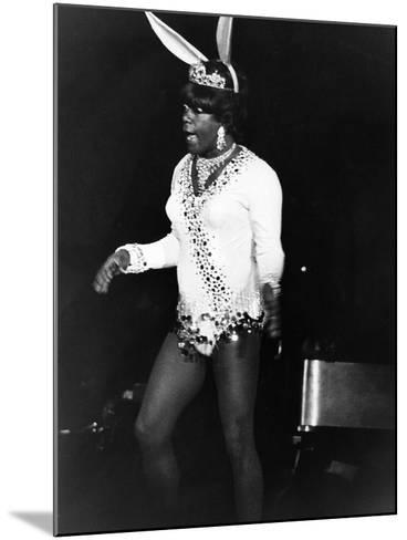 Flip Wilson in Comic Attire-Isaac Sutton-Mounted Photographic Print