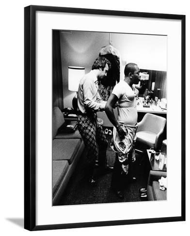 Flip Wilson's transformation into 'Geraldine.'-Leroy Patton-Framed Art Print