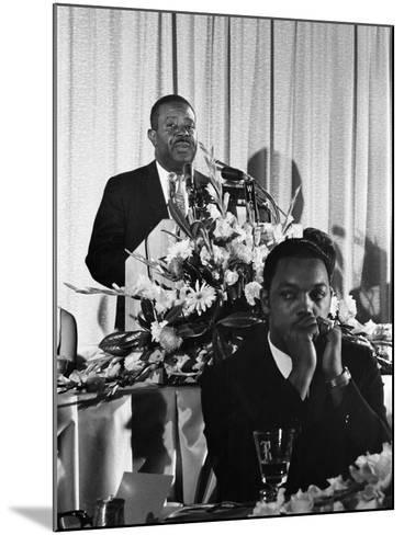 Ralph Abernathy, SCLC Convention - 1967-Howard Simmons-Mounted Photographic Print