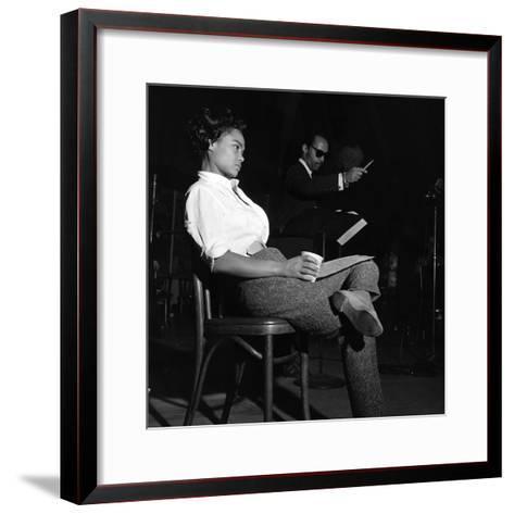 Eartha Kitt-G. Marshall Wilson-Framed Art Print