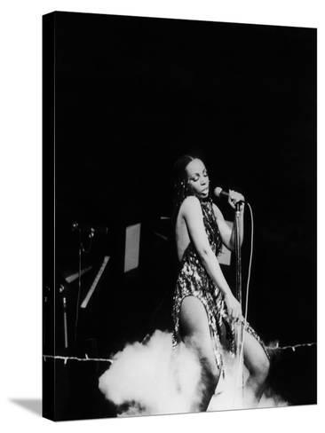 Donna Summers - 1980-Michael Cheers-Stretched Canvas Print