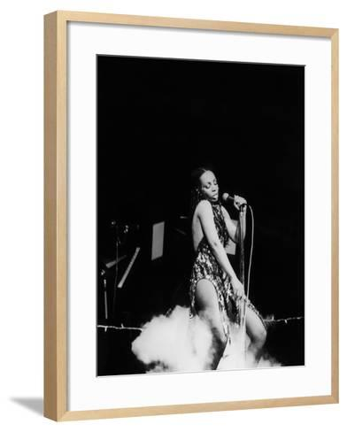 Donna Summers - 1980-Michael Cheers-Framed Art Print