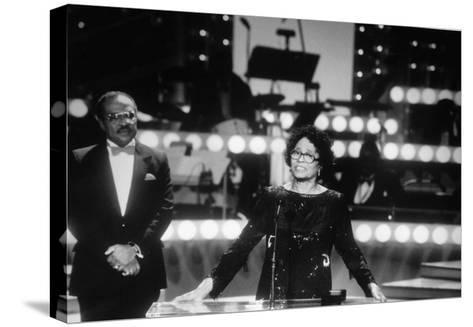 Daisy Bates - 1987-Isaac Sutton-Stretched Canvas Print
