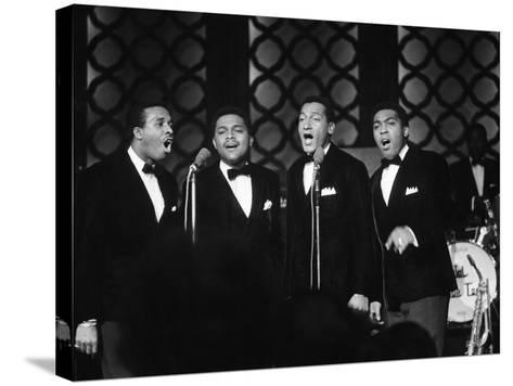 Four Tops - 1967-Bill Gillohm-Stretched Canvas Print