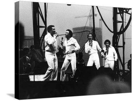 Four Tops - 1981-Vandell Cobb-Stretched Canvas Print