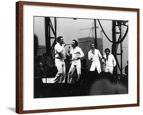 Four Tops - 1981-Vandell Cobb-Framed Art Print