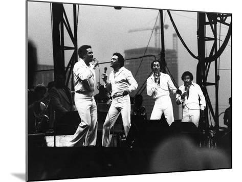 Four Tops - 1981-Vandell Cobb-Mounted Photographic Print