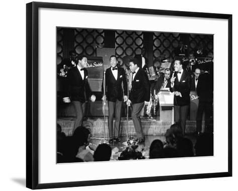 Four Tops - 1967-Bill Gillohm-Framed Art Print
