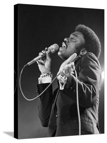 Johnnie Taylor-Todd Duncan-Stretched Canvas Print