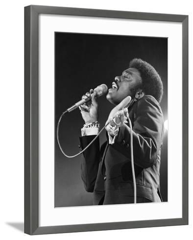 Johnnie Taylor-Todd Duncan-Framed Art Print