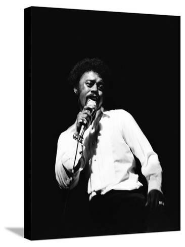 Johnnie Taylor-Norman Hunter-Stretched Canvas Print