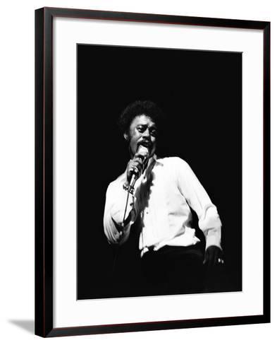 Johnnie Taylor-Norman Hunter-Framed Art Print