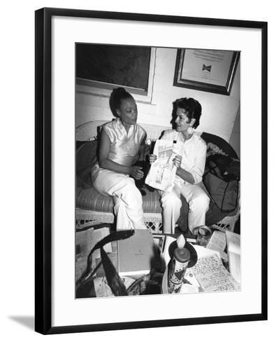 Eartha Kitt - 1959-Isaac Sutton-Framed Art Print