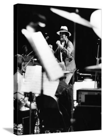 Quincy Jones - 1976-Moneta Sleet Jr.-Stretched Canvas Print