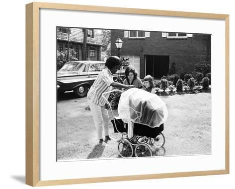 Sarah Vaughan - 1961-G.Marshall Wilson-Framed Art Print
