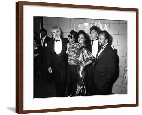Michael Jackson - 1984-Isaac Sutton-Framed Art Print