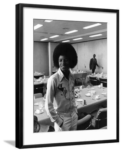 Michael Jackson-Norman Hunter-Framed Art Print