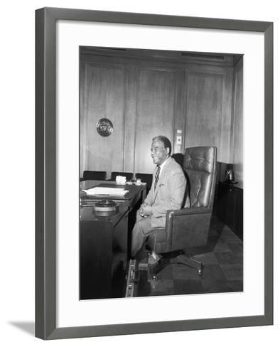 Harold Washington-Michael Cheers-Framed Art Print