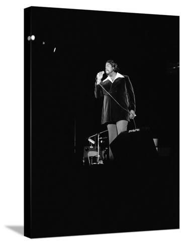 Barry White - 1973-Norman Hunter-Stretched Canvas Print