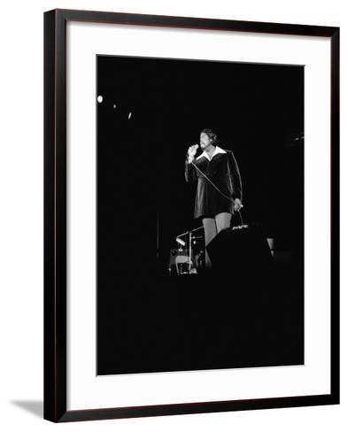 Barry White - 1973-Norman Hunter-Framed Art Print
