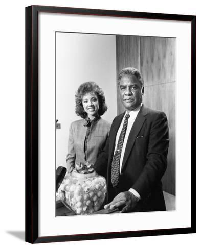 Vanessa Williams -1983-Vandell Cobb-Framed Art Print