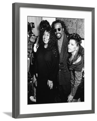 Roberta Flack, Ashford & Simpson - 1989-Monroe Frederick-Framed Art Print