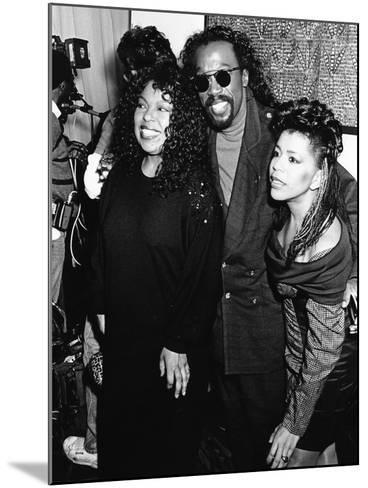 Roberta Flack, Ashford & Simpson - 1989-Monroe Frederick-Mounted Photographic Print