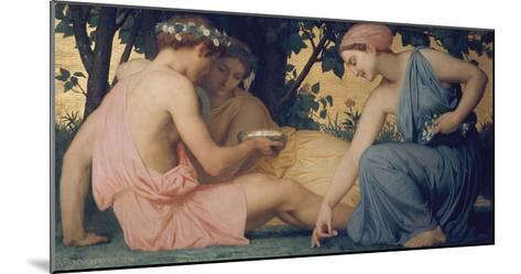Spring, 1858-William Adolphe Bouguereau-Mounted Giclee Print