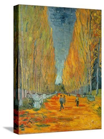 The Alyscamps, Arles, 1888-Vincent van Gogh-Stretched Canvas Print