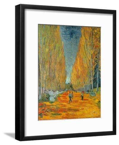The Alyscamps, Arles, 1888-Vincent van Gogh-Framed Art Print