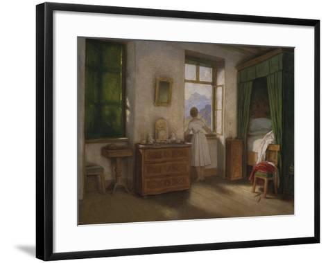 Die Morgenstunde, um 1860-Moritz Von Schwind-Framed Art Print