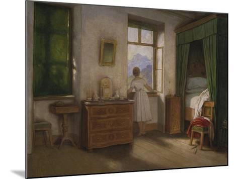 Die Morgenstunde, um 1860-Moritz Von Schwind-Mounted Giclee Print