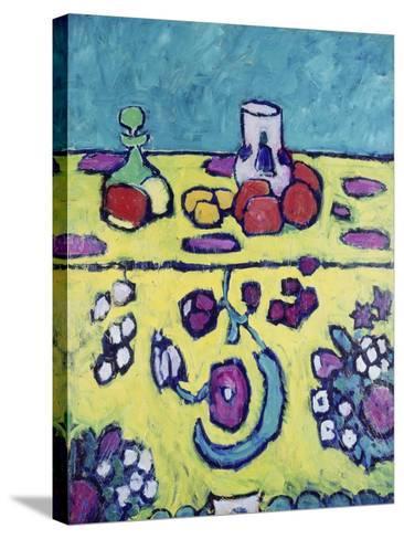 Still-Life with Colourful Cloth, 1910-Alexej Von Jawlensky-Stretched Canvas Print