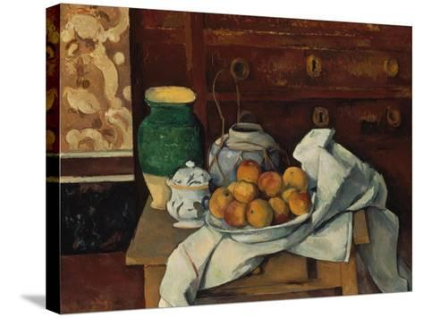 Still Life, about 1885-Paul C?zanne-Stretched Canvas Print