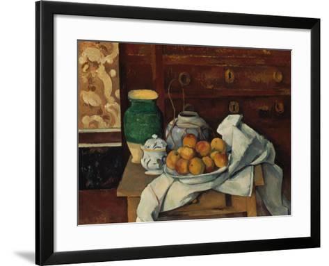 Still Life, about 1885-Paul C?zanne-Framed Art Print